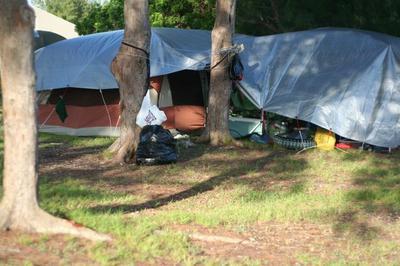Liz's Tent Setup